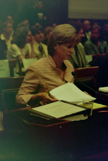 Christie Whitman testifies before the House Judiciary Committee to defend  her post 9/11 EPA actionsremarks