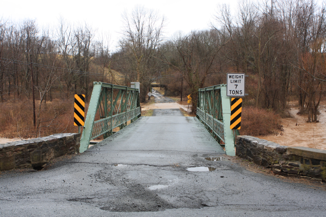Alexauken flooding threatens to wash out road and bridge