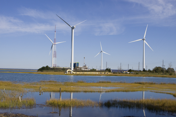 Atlantic COunty Utilities Authority wind project - Atlantic CIty, NJ
