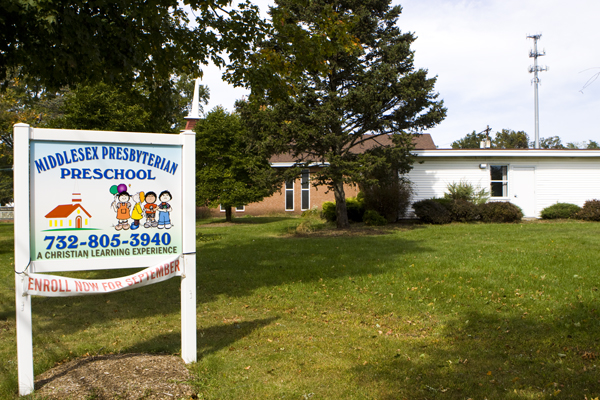 Middlesex Preschool - located virtually on top of old landfill