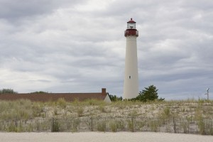 Cape May lighthouse - managed by DEP