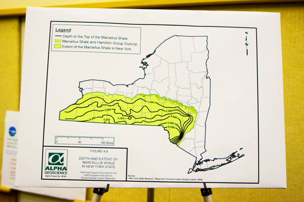 Marcellus shale formation, NY State's southern tier and Catskill Park- is targeted for gas drilling